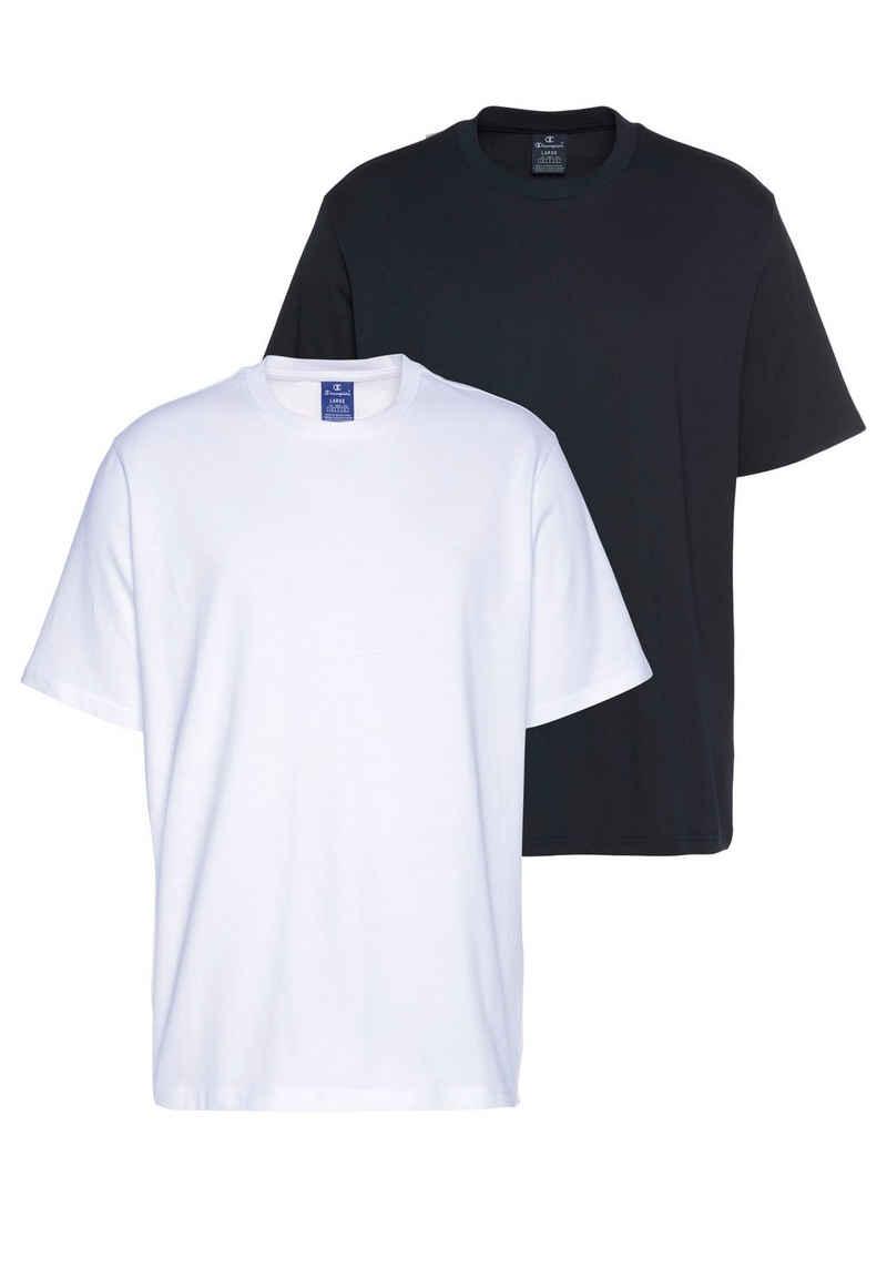 Champion T-Shirt »2PACK CREW-NECK« (Packung, 2-tlg., 2er-Pack)