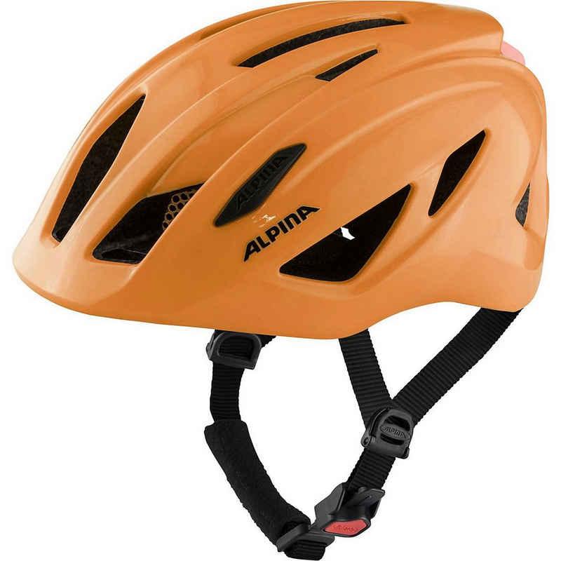 Alpina Sports Kinderfahrradhelm »Fahrradhelm PICO FLASH be visible gloss 50-55«