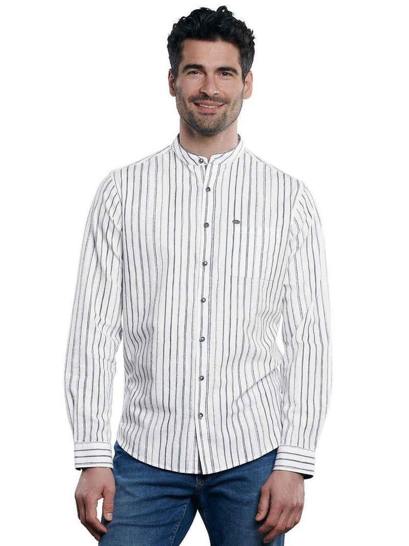 Engbers Langarmhemd »Hemd gemustert«
