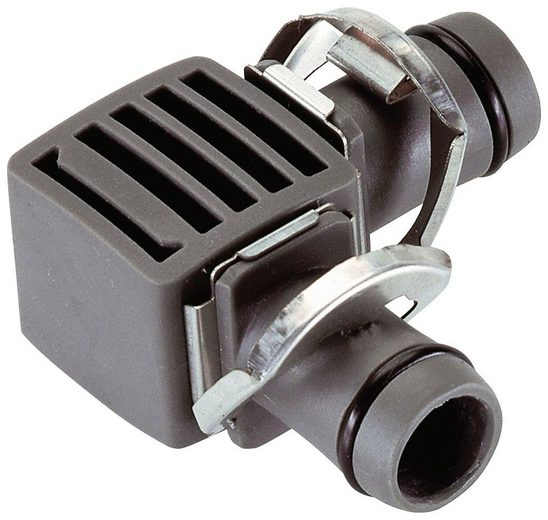 "GARDENA L-Stück »Micro-Drip-System, 08382-20«, 13 mm (1/2""), 2 Stück"