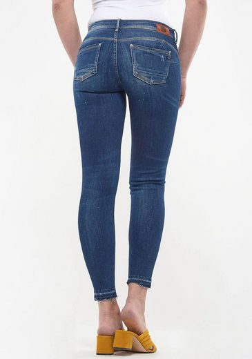 Le Temps Des Cerises Skinny-fit-Jeans »PULPC CEIBA« im Destroyed-Look