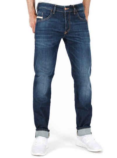 Diesel Tapered-fit-Jeans Herren Regular Tapered Fit Stretch Hose Dunkel Blau - D-Bazer 082AY