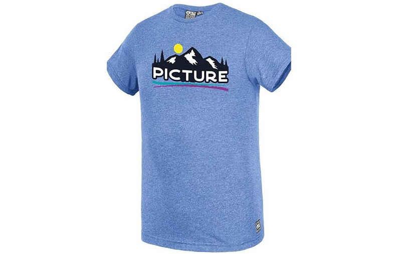 Picture T-Shirt »Picture Herren T-Shirt Traffer Tee blau«