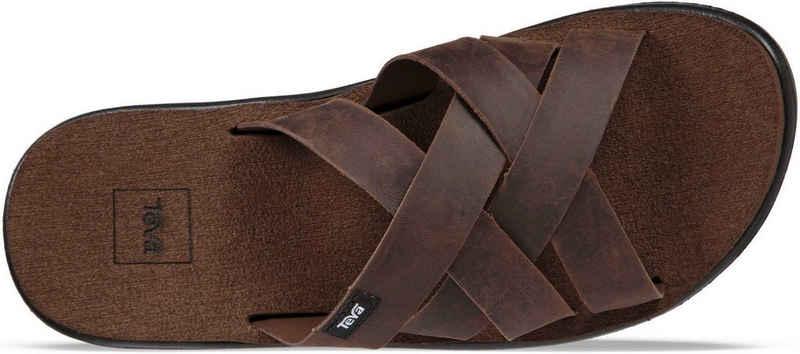 Teva »Voya Slide Leather« Sandale
