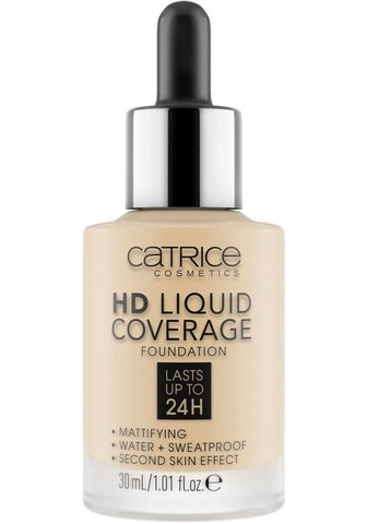 Catrice Foundation »HD Liquid Coverage Foundat...