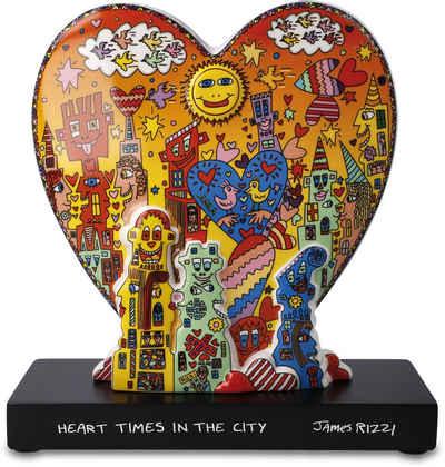 """Goebel Dekofigur »Figur James Rizzi - """"Heart times in the City""""« (1 Stück)"""
