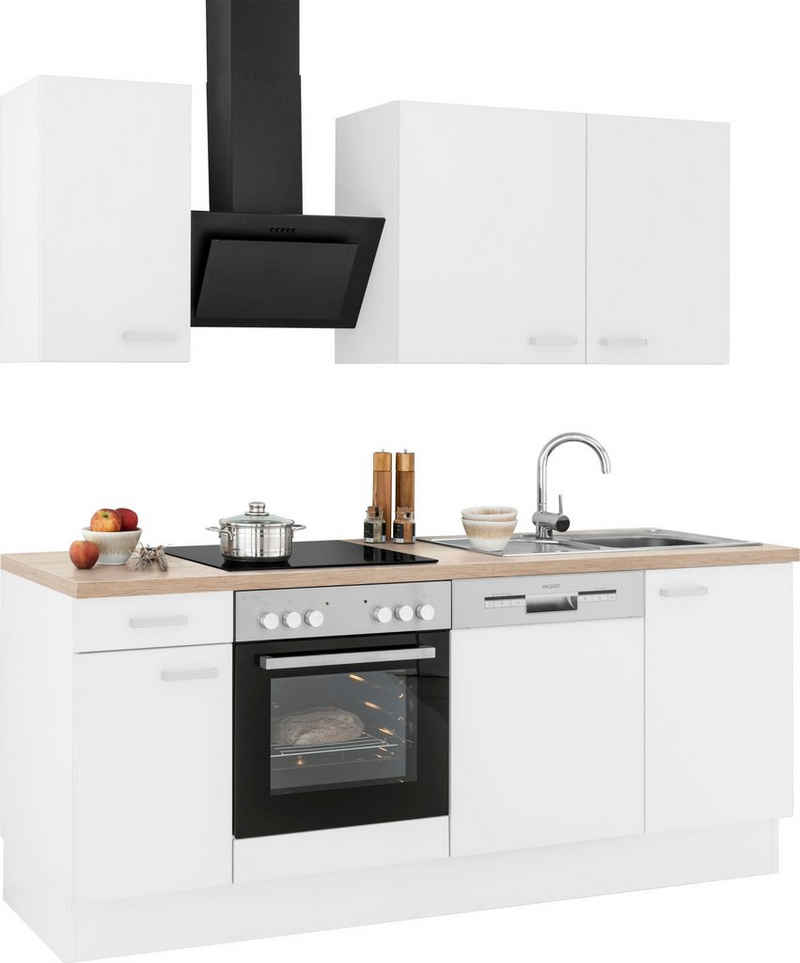 OPTIFIT Küchenzeile »Parma«, mit E-Geräten, Breite 210 cm