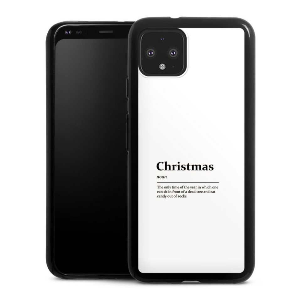 DeinDesign Handyhülle »Christmas Definition« Google Pixel