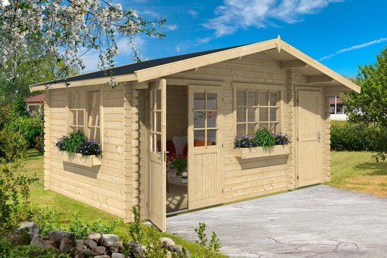 Nordic Holz Gartenhaus »Borkum 4«, BxT: 505x320 cm