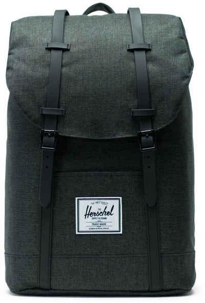 Herschel Laptoprucksack »Retreat - Black Crosshatch«