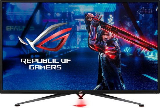 "Asus ROG Strix XG438QR Gaming-Monitor (109,22 cm/43 "", 3840 x 2160 Pixel, 4K Ultra HD, 4 ms Reaktionszeit, 120 Hz, VA LED)"