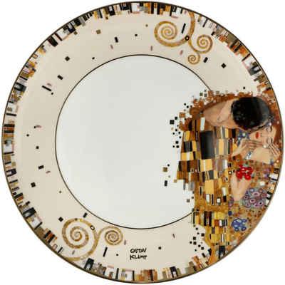 Goebel Speiseteller »Der Kuss«, von Gustav Klimt