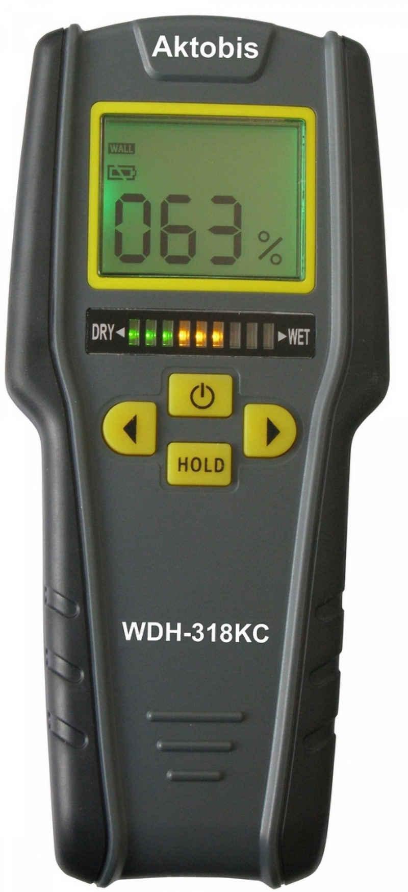 WDH Feuchtigkeitsmesser »Materialfeuchte Messgeraet WDH-318KC«