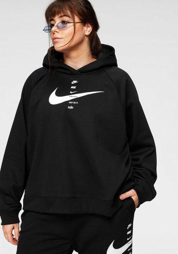 Nike Sportswear Kapuzensweatshirt »WOMEN SWOOSH HOODIE FLEECE PLUS SIZE«