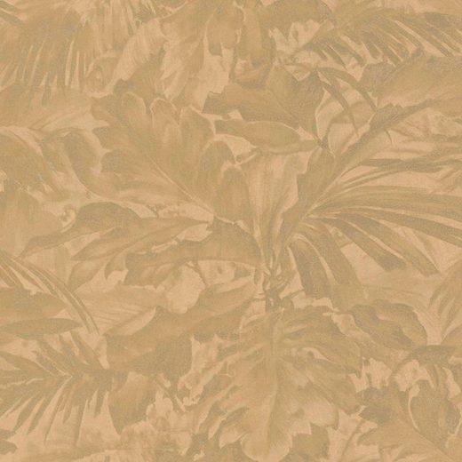 Rasch Vinyltapete »Mandalay«, geprägt, gemustert, floral, (1 St)