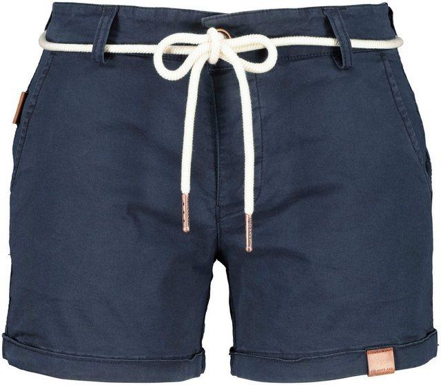 Hosen - Alife Kickin Shorts »JuleAK« kurze Hose in hochwertiger Elasthan Stretchqualität › blau  - Onlineshop OTTO