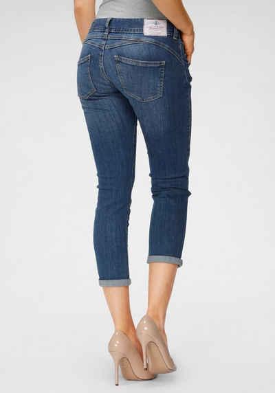 Herrlicher 7/8-Jeans »GINA CROPPED« Schlankeffekt dank eingesetztem Keileinsatz