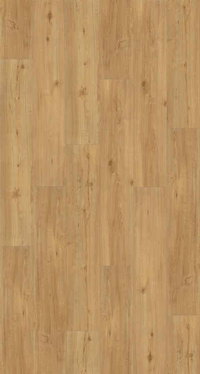 PARADOR Vinyllaminat »Basic 2.0 - Eiche Natur«, Packung, ohne Fuge, 1225 x 229 x 2 mm, 4,5 m²