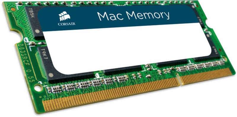 Corsair »Mac Memory — 8GB Dual Channel DDR3 SODIMM« Laptop-Arbeitsspeicher