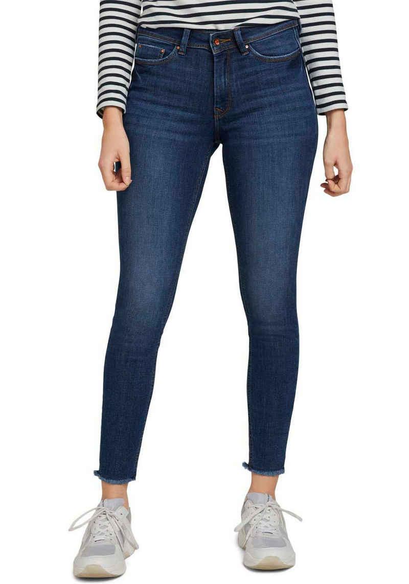 TOM TAILOR Denim Skinny-fit-Jeans mit Push-Up Effekt