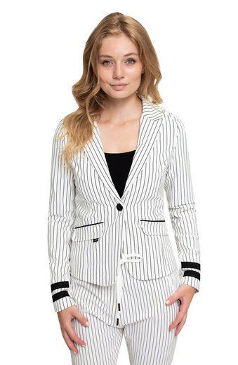Zhrill Jackenblazer »Betsy« Zhrill Damen Blazer Anzugjacke Elegant Slim Fit Betsy