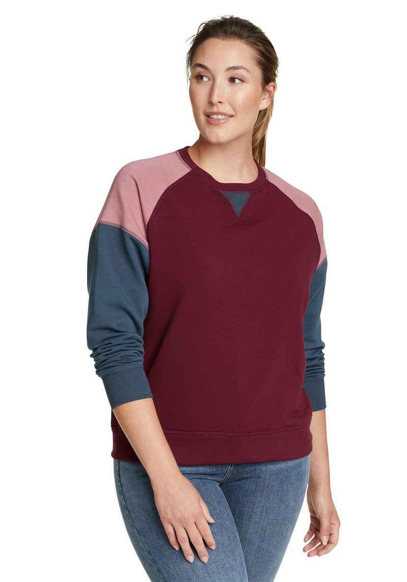 Eddie Bauer Sweatshirt Cozy Camp Color Block Sweatshirt