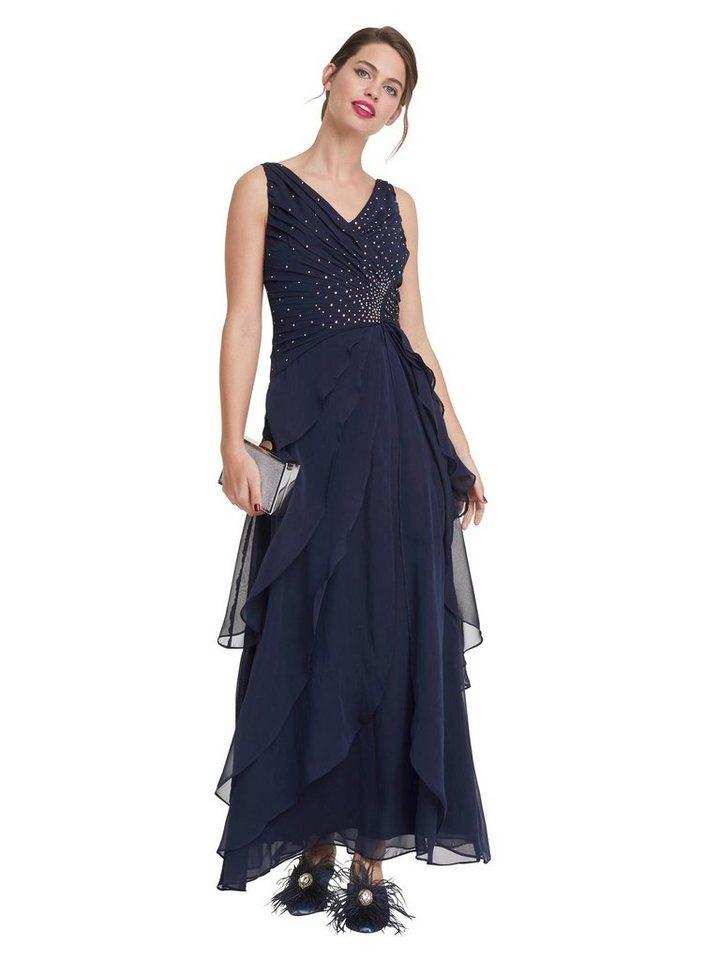 Festtagsmode - PATRIZIA DINI by Heine Abendkleid »Abendkleid« › blau  - Onlineshop OTTO