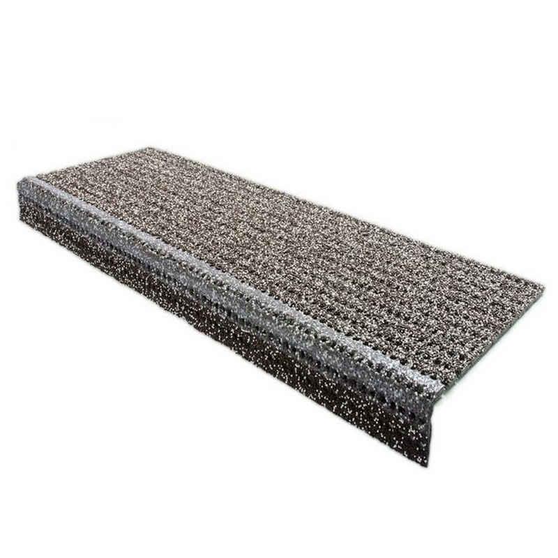 Stufenmatte »Sicherheit«, Floordirekt, Rechteckig, Höhe 65 mm, für Außenbereiche
