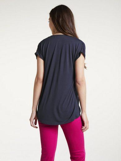 heine CASUAL Shirt mit Knotendetail