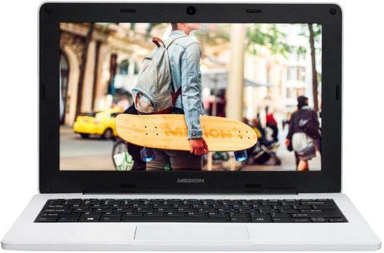Medion® Medion Akoya E11201 (MD61860) 29,46 cm (11,6 Zoll) Notebook (Intel Celeron N3450, HD Graphics 500, 64 GB HDD)