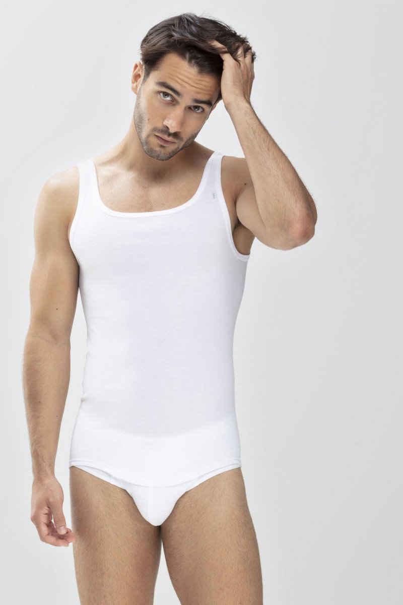 Mey Unterhemd »Mey Athletic Shirt Noblesse 2800« (1 Stück), Feinripp, keine auftragenden Nähte