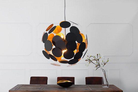 riess-ambiente Hängeleuchte »INFINITY HOME 70cm schwarz / gold«, Modern Design