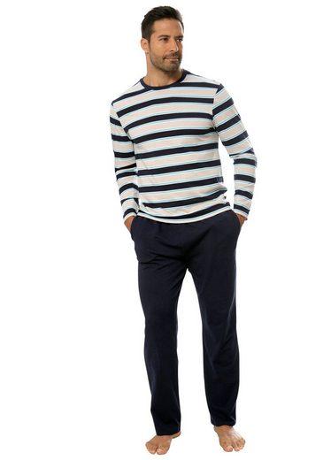 H.I.S Pyjama in schöner Streifenoptik
