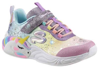 Skechers Kids »UNICORN DREAMS« Sneaker mit Einhornmotiv und Blinkfunktion