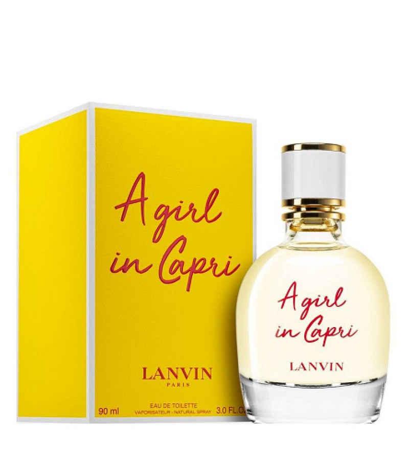 LANVIN Eau de Parfum »Lanvin A Girl in Capri 90 ml«