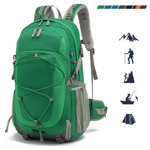 TAN.TOMI Fahrradrucksack »Wanderrucksack »Trekkingrucksack Outdoor Reiserucksack Tagesrucksack« (Ausgestattet mit 1-Rucksack und 1-Regenabdeckung)