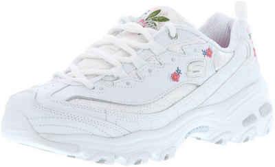Skechers »11977/WHT D'Lites-Bright Blossoms White« Sneaker