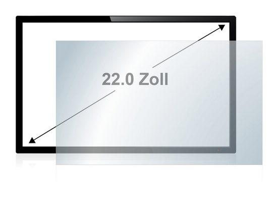 upscreen Schutzfolie »für Touch-Panel PCs 55.9 cm (22 Zoll) 490 x 270 mm«, Folie Schutzfolie klar antibakteriell