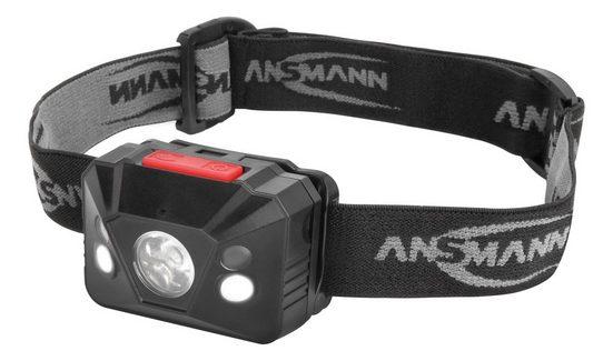 ANSMANN® LED Stirnlampe »LED Stirnlampe – Gestengesteuert, LED für Fern und Nahbereich«