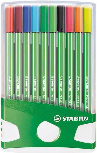 STABILO Dekorierstift »Filzstifte ColorParade Fußball Edition, 20 Farben«