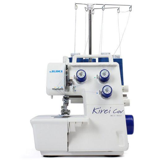 Juki Overlock-Nähmaschine Kirei MCS-1800, Zuverlässig und schnell säumen mit der Coverstich von JUKI