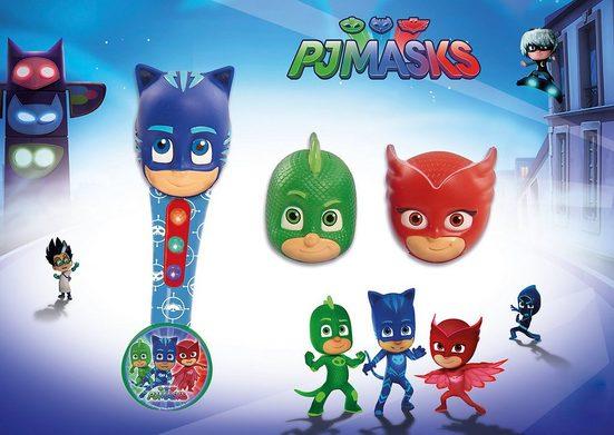 PJ Masks Mikrofon »PJ Masks Handmikrofon, mit drei Köpfen«