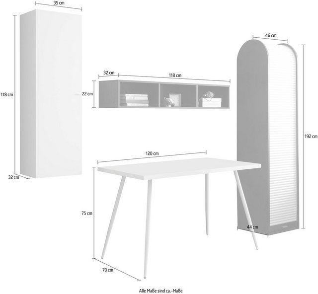Büromöbel Sets - Büro Set »Big System Office«, (4 St)  - Onlineshop OTTO