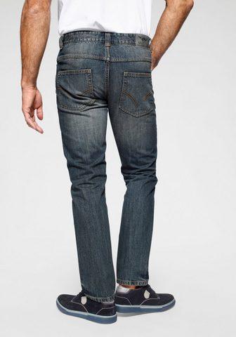 Arizona Straight-Jeans » Džinsai Dirty used«