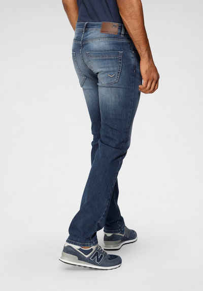 TOM TAILOR Polo Team 5-Pocket-Jeans »DAVIS« mit used Waschung