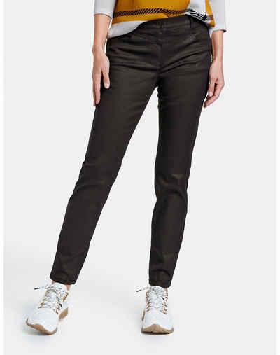 GERRY WEBER Stretch-Jeans »Hose aus beschichteter Baumwolle« (1-tlg) Hose