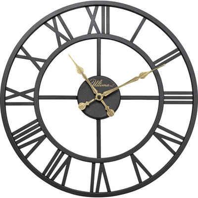 KARE Uhr »Wanduhr Roman Schwarz 41cm«