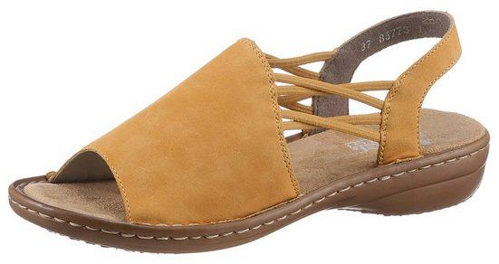 Rieker Sandale mit Gummizugbändern