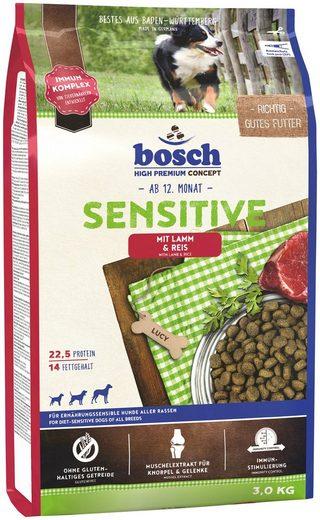 Bosch Petfood Trockenfutter »Sensitive Lamm & Reis«, 3 kg