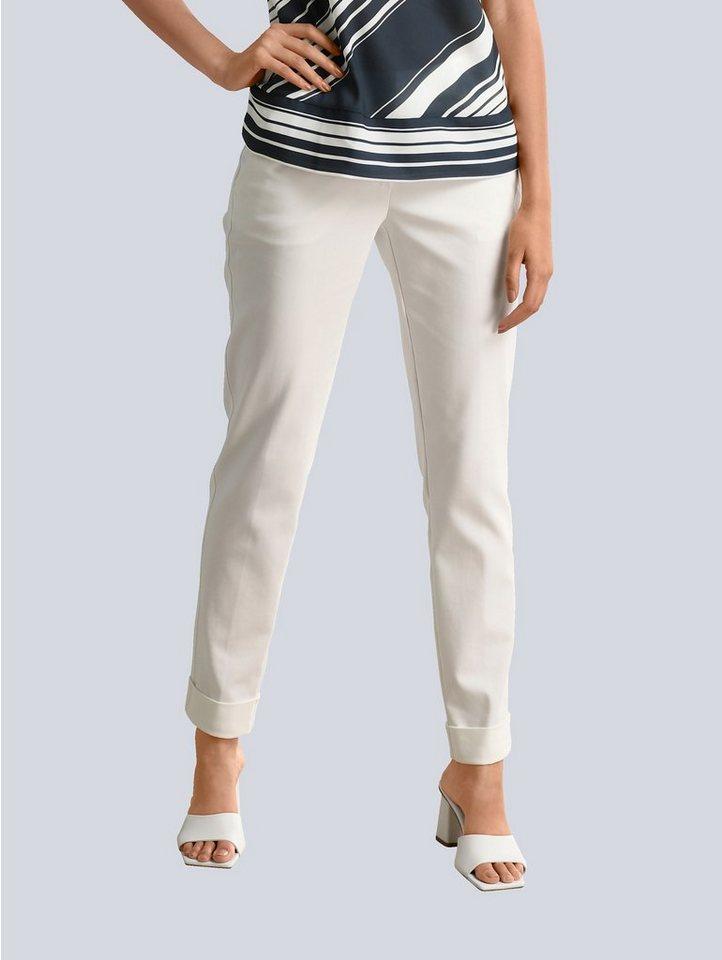 alba moda -  Bundfaltenhose mit etwas höherem Formbund